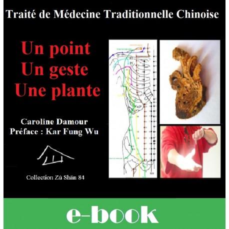 Un point - Un Geste - Une Plante, Traité de Médecine Traditionnelle Chinoise - Auteur : Caroline DAMOUR, Préface : Kar Fung Wu