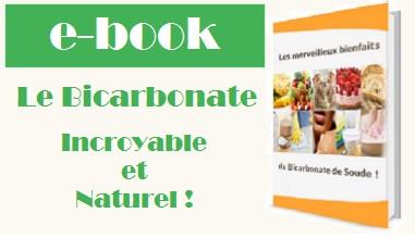 E-Book les merveilleux bienfaits du bicarbonate